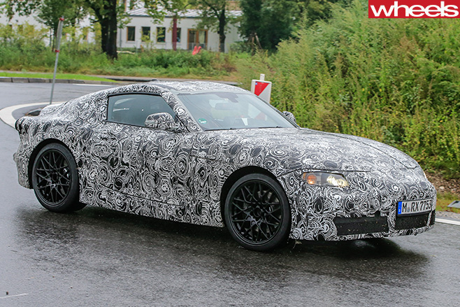 2018-Toyota -Supra -driving -side -front