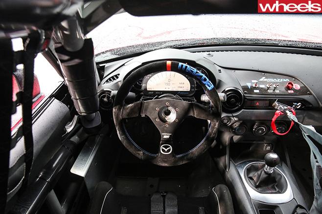 Mazda  MX 5 Cup  Interior