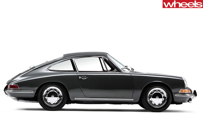 1964-Porsche -911-side -profile
