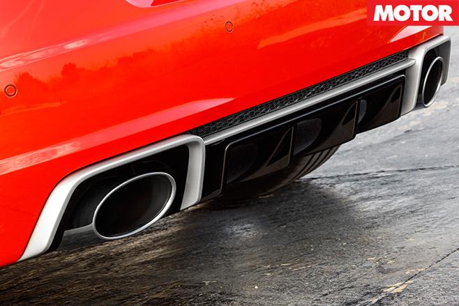 Audi TT RS rear
