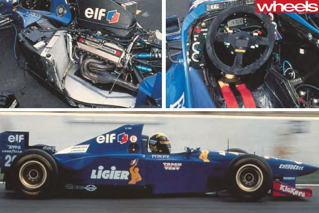 1996-Ligier -JS41-F1-sports -car -driving