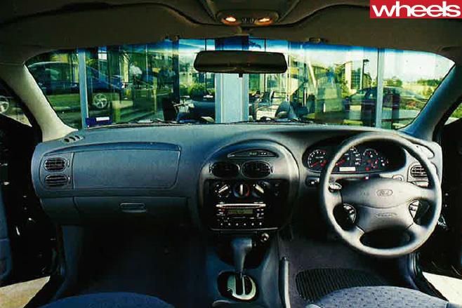 2000-Ford -Falcon -interior