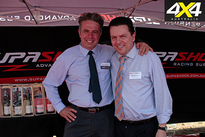 Oscar Fiorinotto and Senator Nick Xenophon