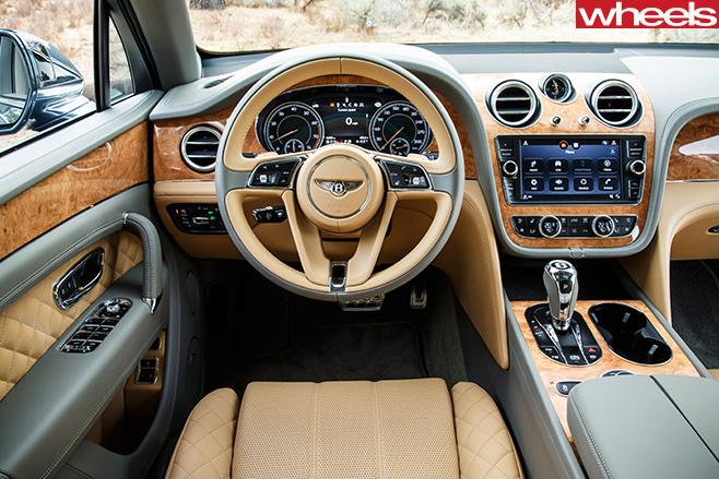 Bentley -Bentayga -diesel -model -interior -dashboard