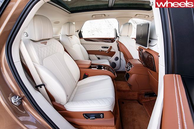 Bentley -Bentayga -diesel -model -interior