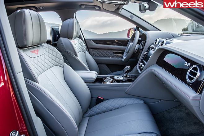 Bentley -Bentayga -diesel -model -interior -side