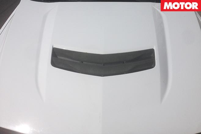 Cadillac ATS-V hood