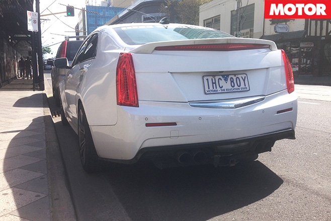 Cadillac ATS-V rear low
