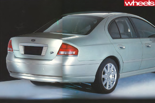 2002-Ford -BA-Falcon -rear