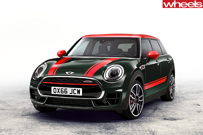 2017-mini -clubman -jcw -front -static