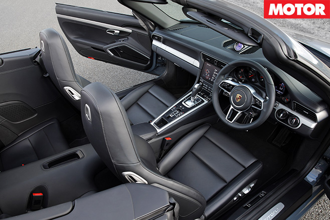 Porsche 911 Cabriolet review interior