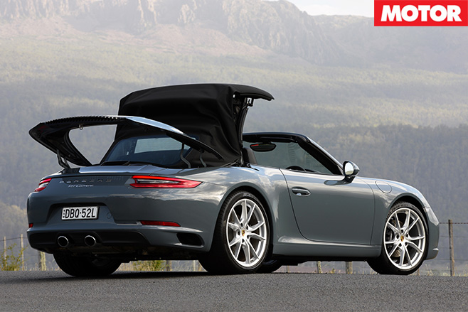 Porsche 911 Cabriolet drop-top