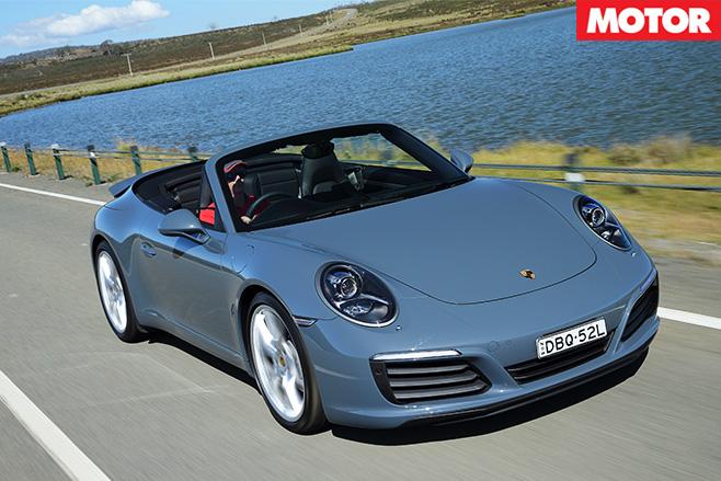 Porsche 911 Cabriolet front