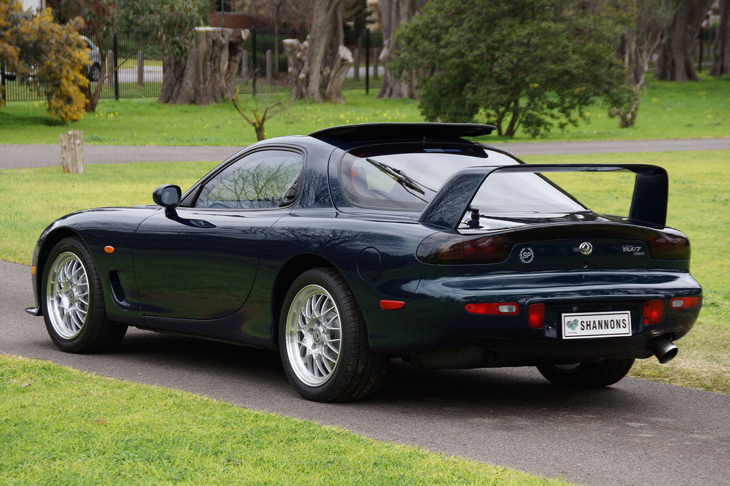 Mazda RX-7 SP rear auction