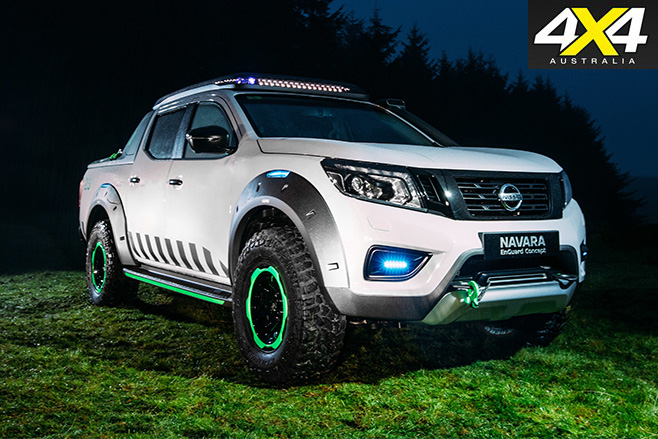 Nissan Navara Enguard glow dark