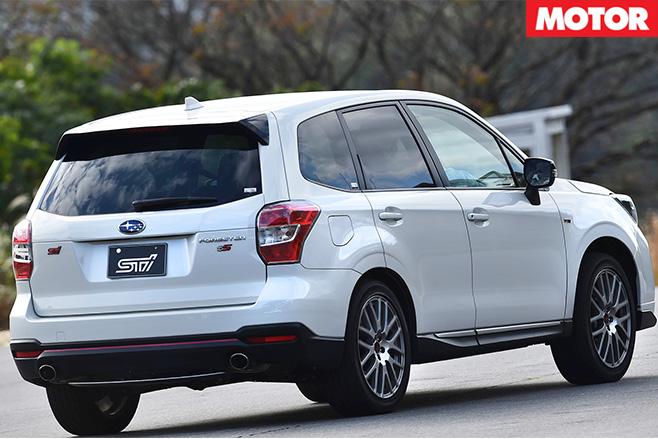 Subaru forester ts rear