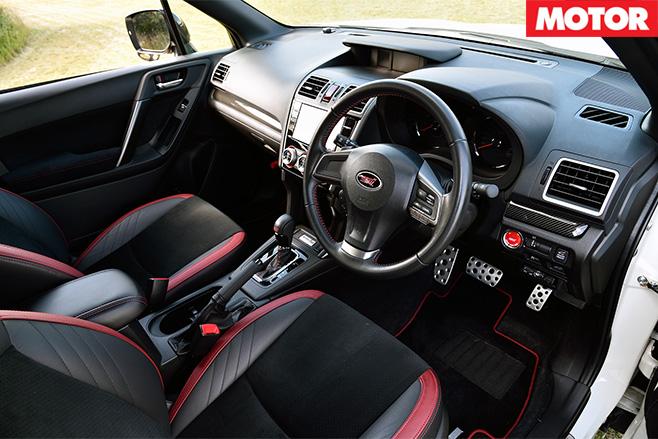 Subaru forester ts interior