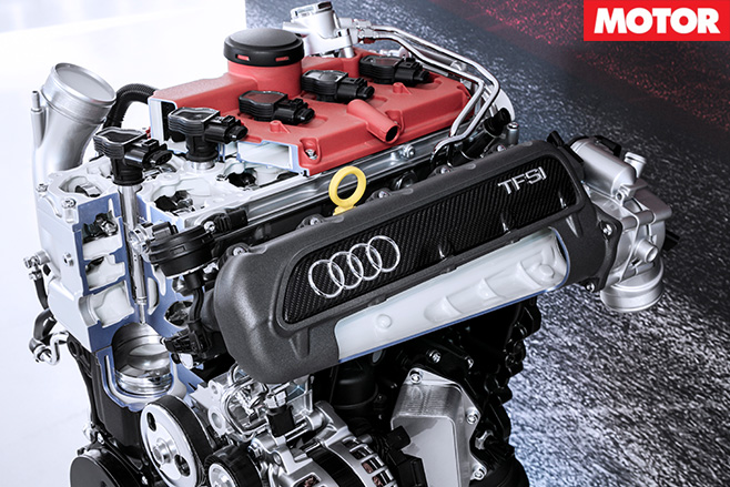Five cool things about the new TT RS engine