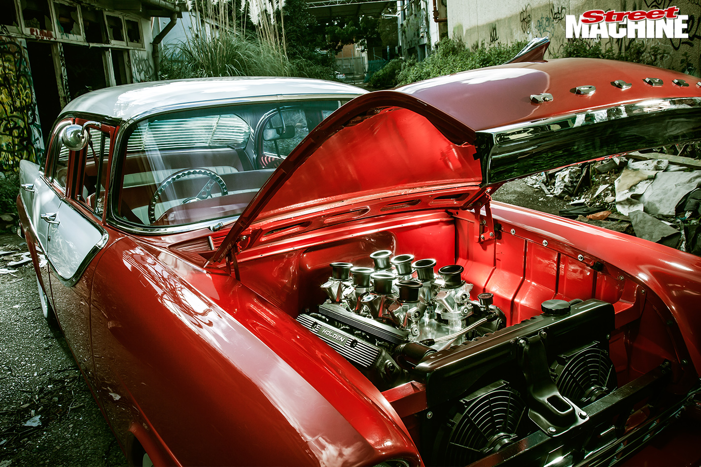 Holden -FB-engine -bay