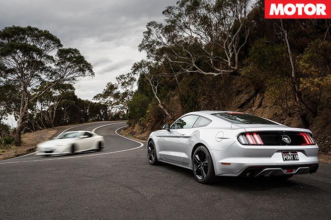Mustang rear vs fast toyota 86