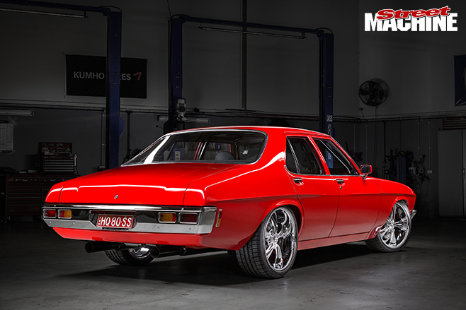 1000HP Twin turbo LSX HQ Holden rear