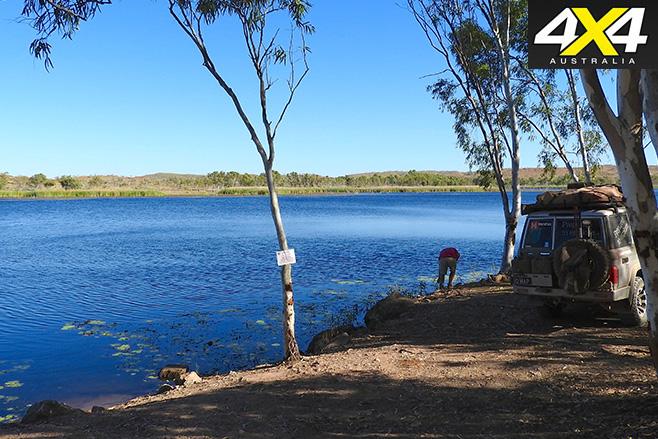 Bradley Dam off Duncan rd