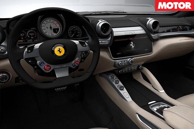 Ferrari GTC4 Lusso T interior
