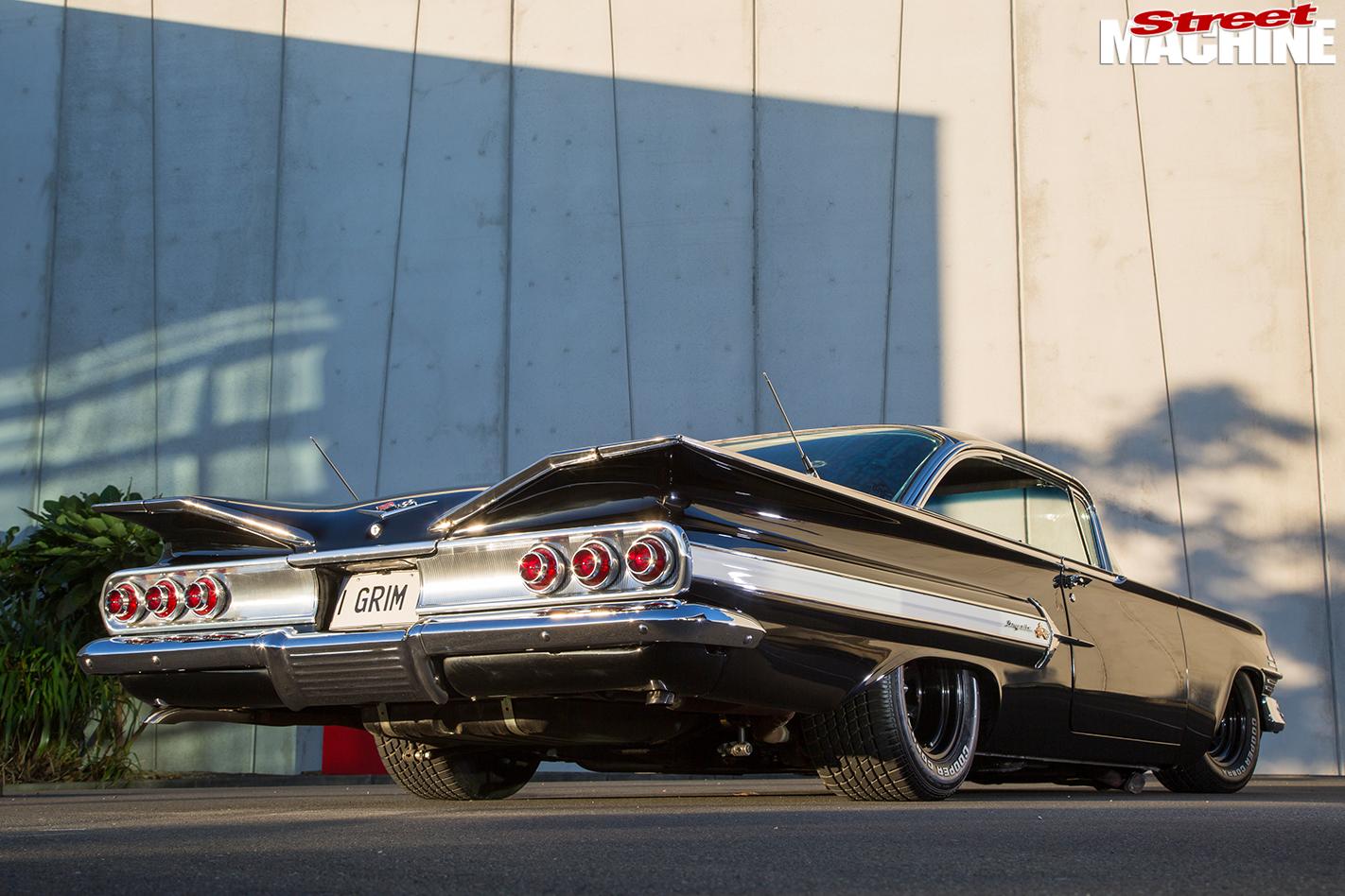Chevrolet -impala -rear -angle
