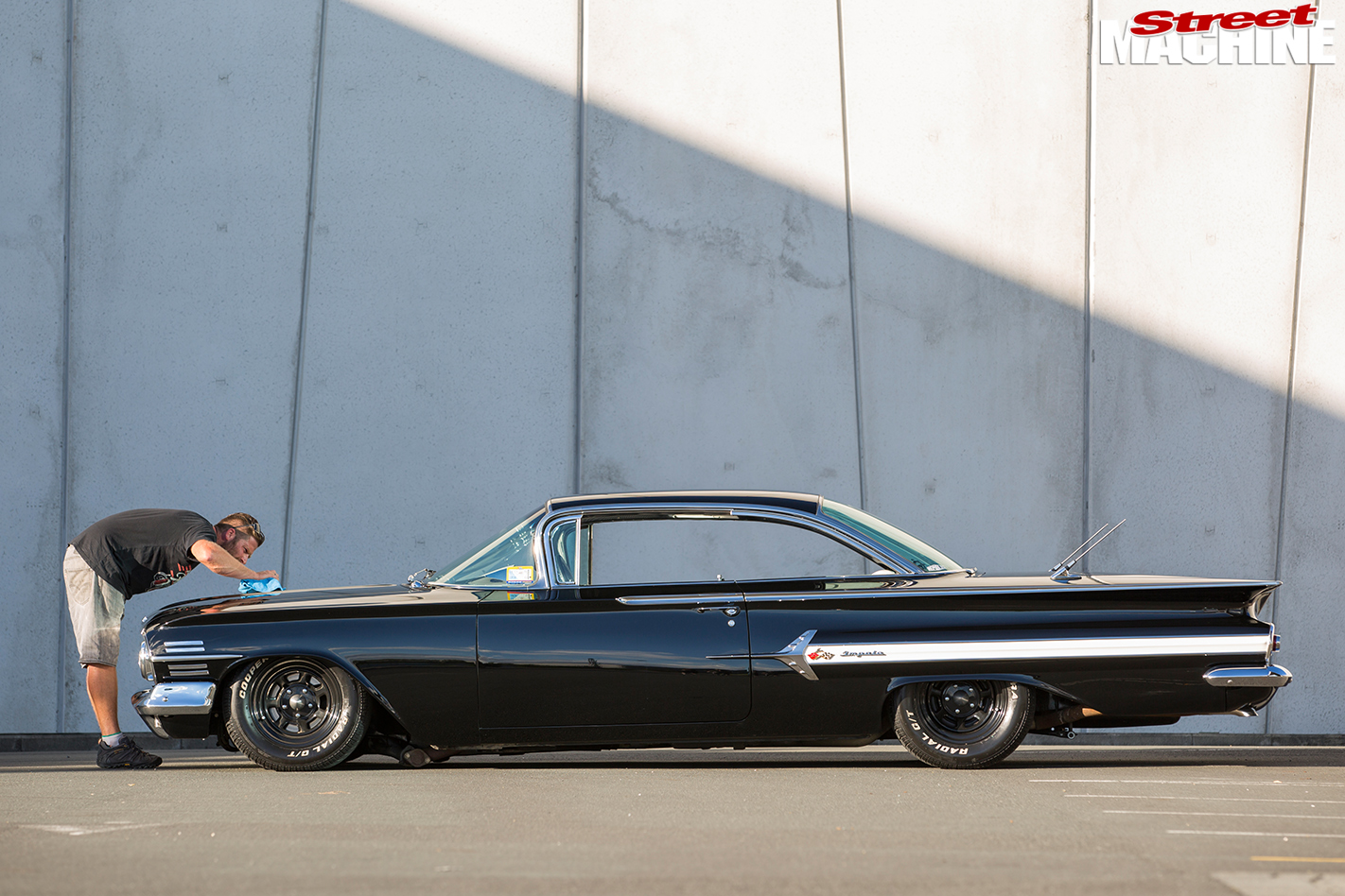 Chevrolet -impala -side -view