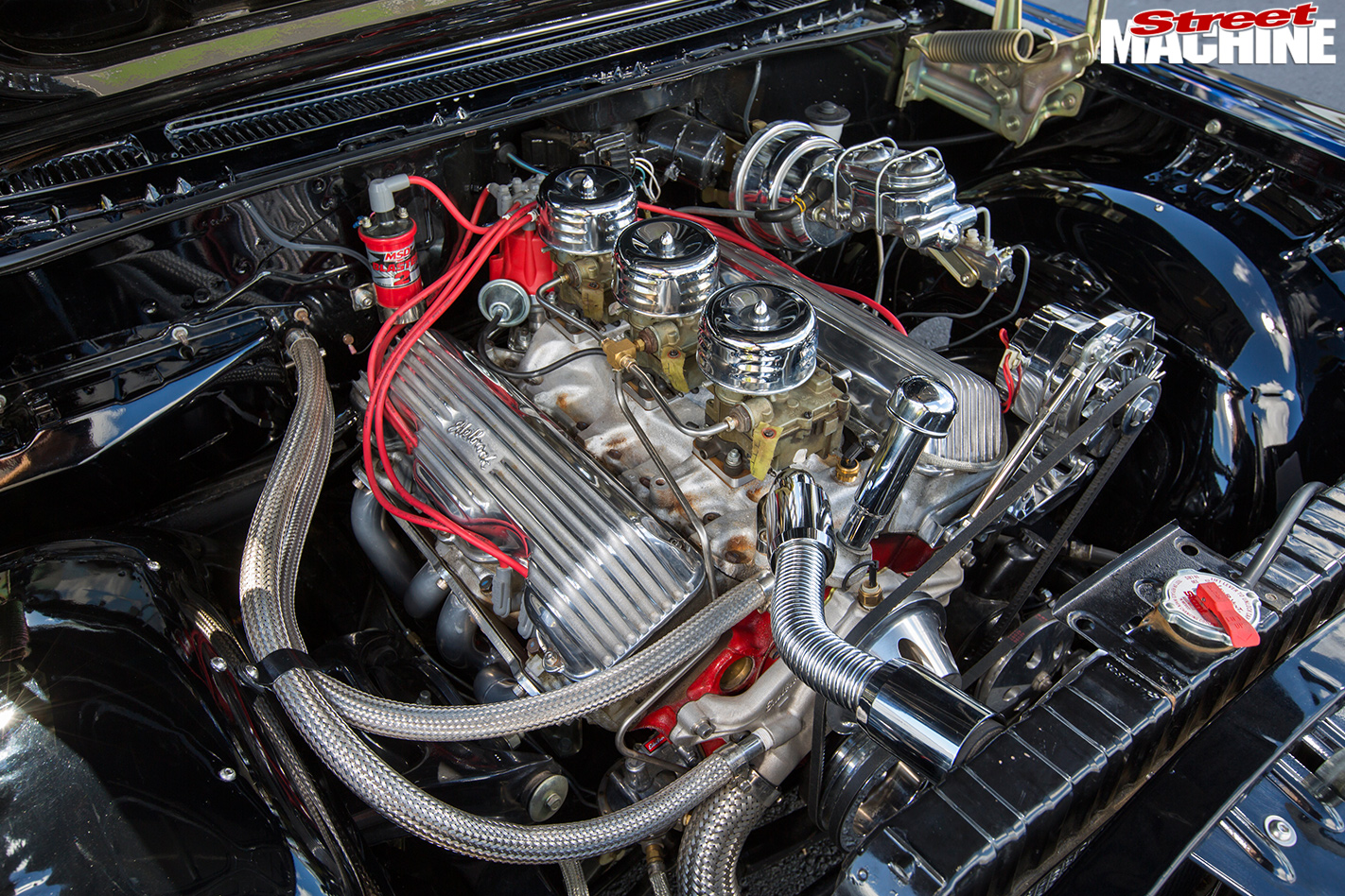 Chevrolet -impala -engine -bay