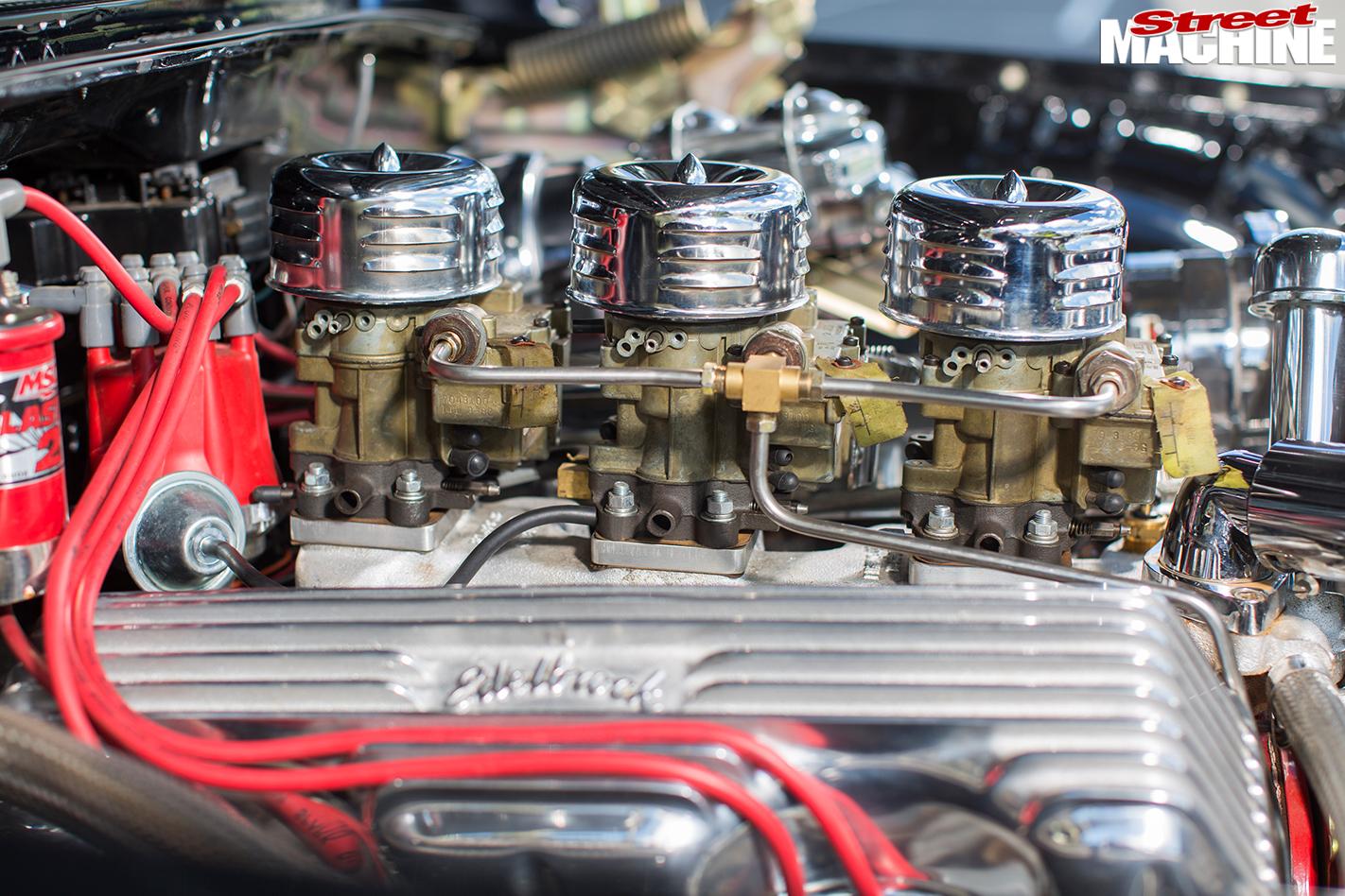 Chevrolet -impala -engine -detail
