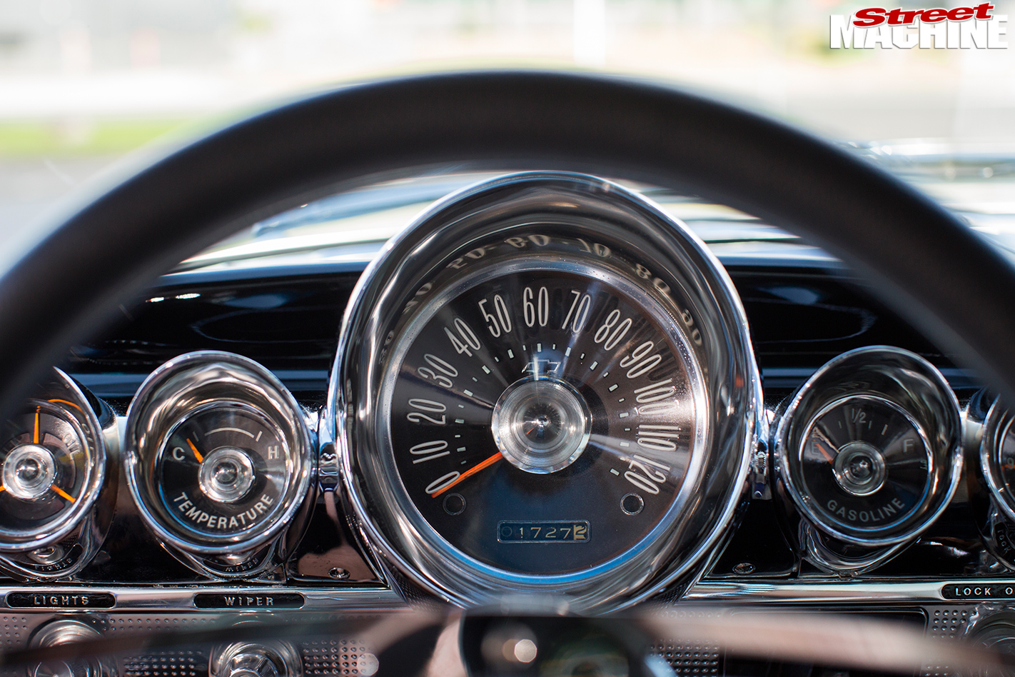 Chevrolet -impala -gauges