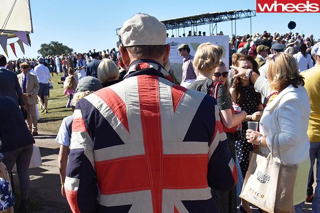 Union -Jack -jacket -Goodwood -Revival -2016