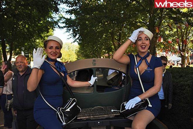 Ladies -at -Goodwood -Revival;