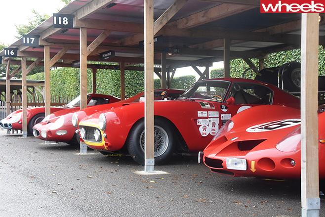 Ferraris -goodwood -revival