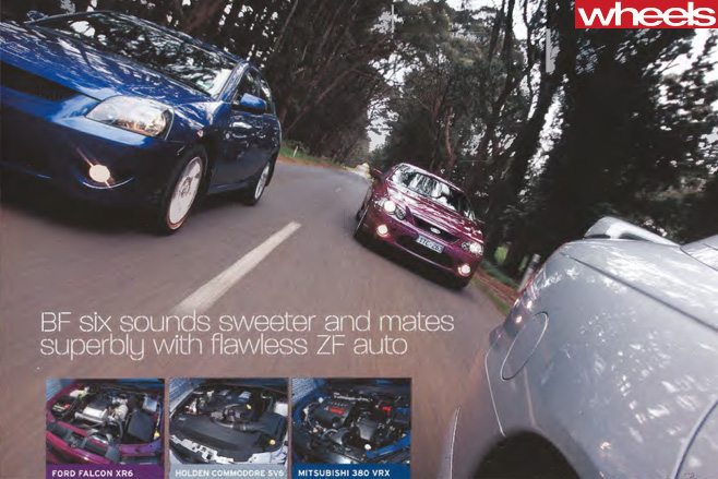 2005-Ford -BF-Falcon -vs -competitors -driving -side