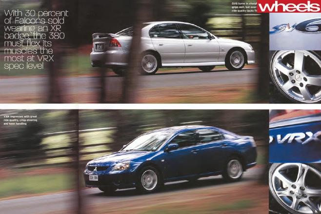 Holden -VZ-Commodore -vs -Mitsubishi -380-VXR