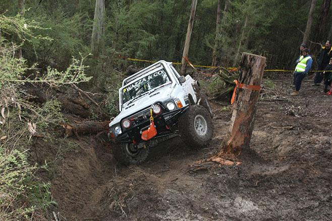 Winch -Challenge -mud -track
