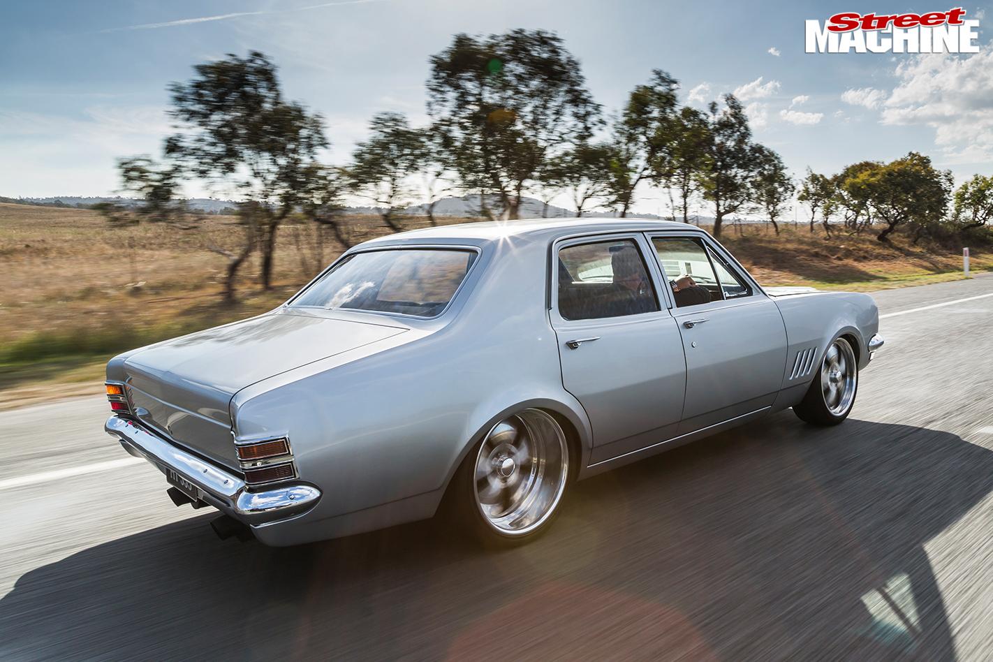 Holden -HT-Kingswood -onroad -rear