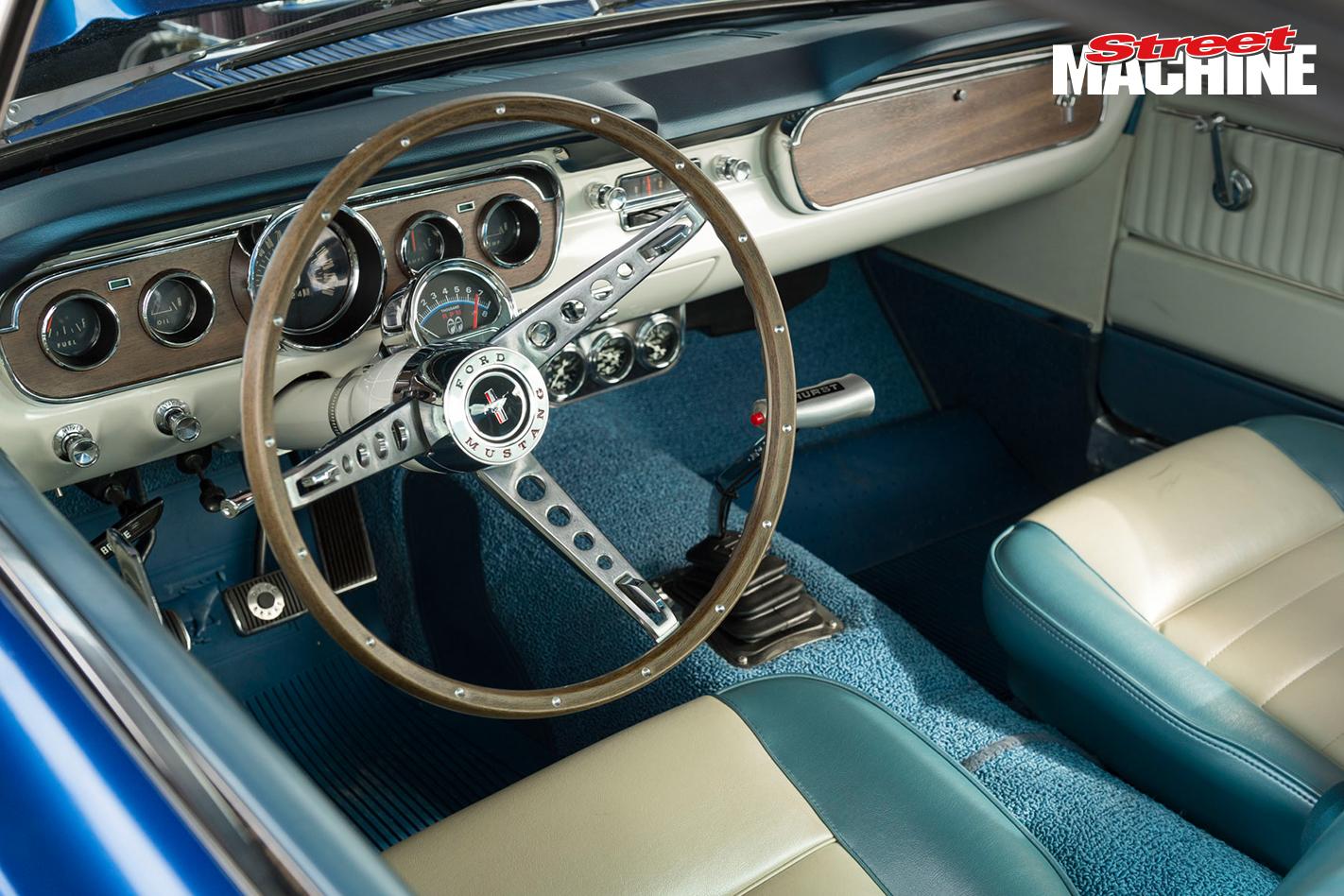 65 Mustang Fastback Interior