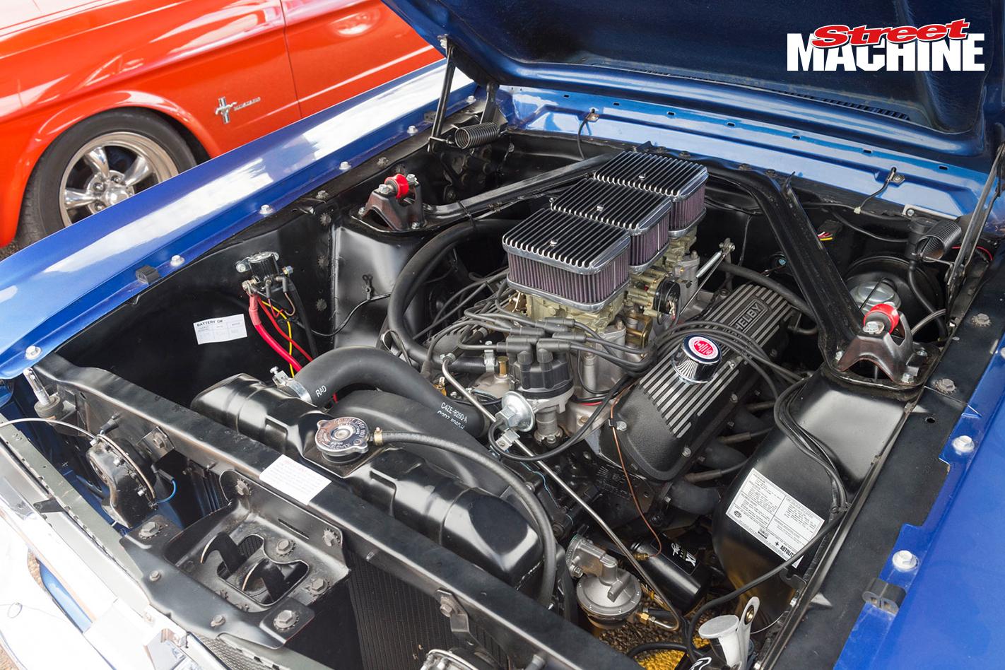 65 Mustang Fastback Stroker Engine