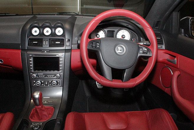 HSV W427 Interior