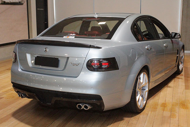 HSV W427 Rear Three Quarter