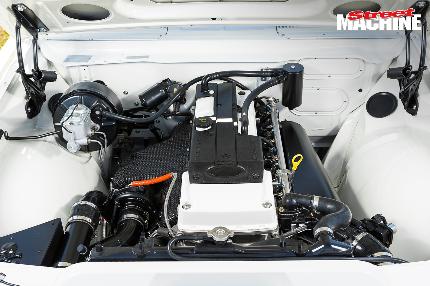 HG Holden Belmont Barra Turbo Engine 1