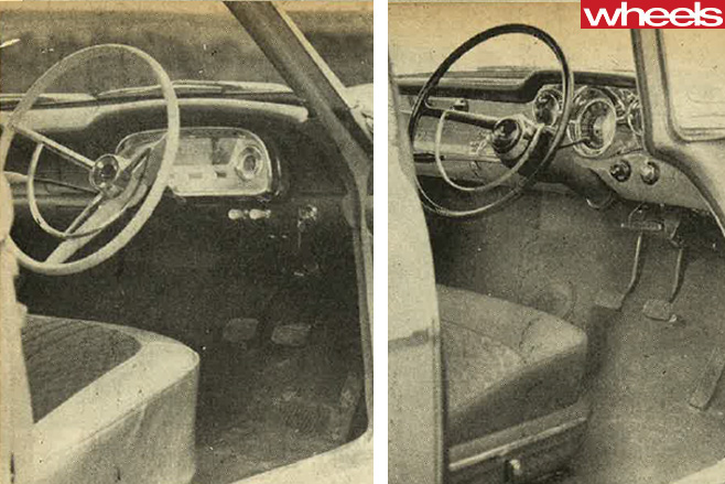 1960-Ford -Falcon -and -Holden -FB-interiors