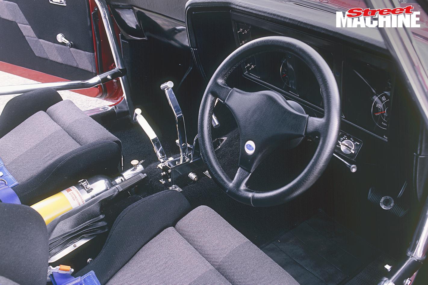 XA GT Falcon Rock Solid Interior 1