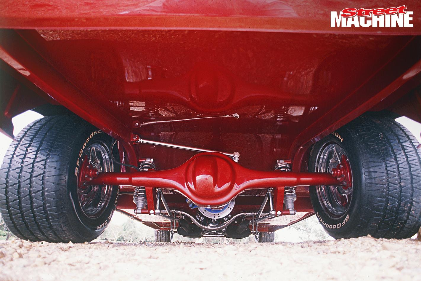 XA GT Falcon Rock Solid Rear End