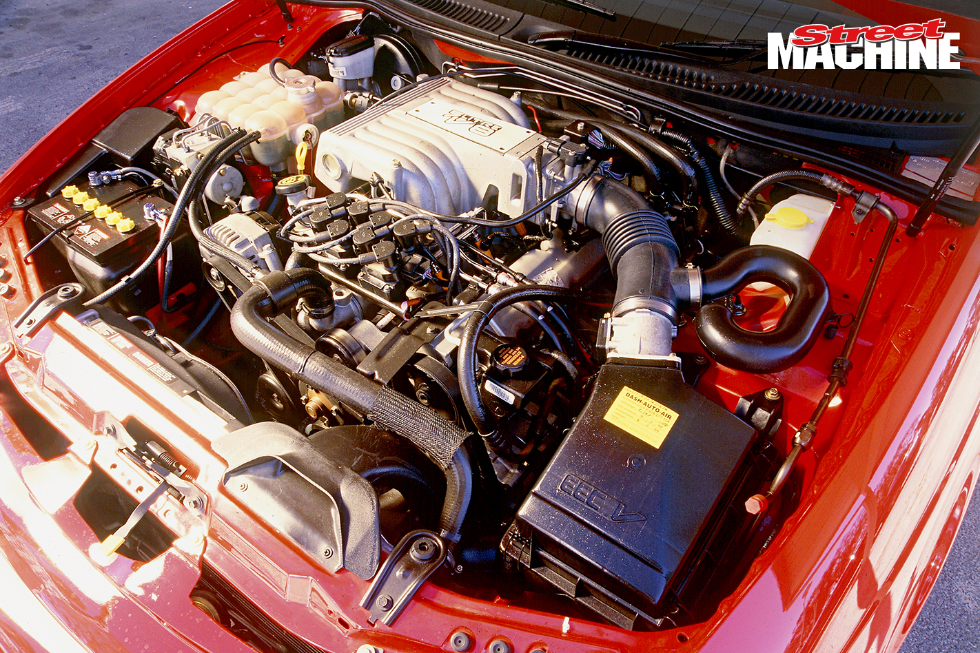 Ford AU Falcon Coupe V8 Engine