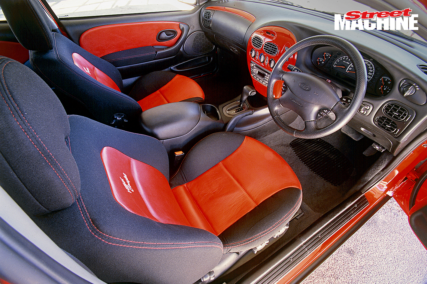 Ford AU Falcon Coupe V8 Interior