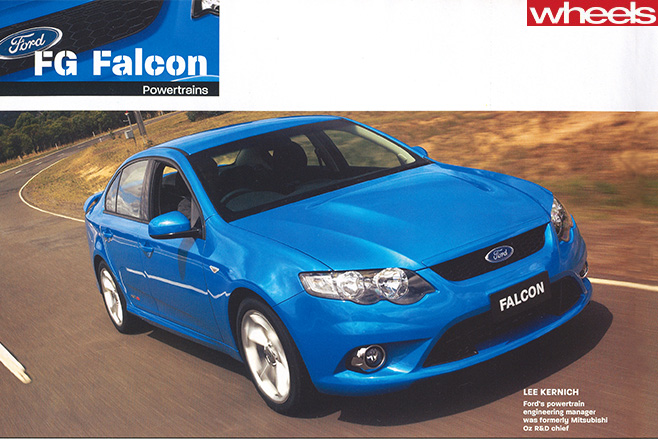 Ford -fg -falcon -driving -front